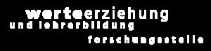 Logo Werteerziehung und Lehrerbildung